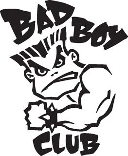 Brindes Grátis - Adesivo Bad Boy