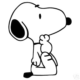 peanuts characters snoopy.